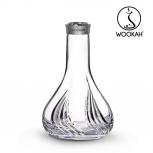 Vase Wookah Crystal Click : Size:T.U, Color:FLAMES