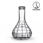 Vase Wookah Crystal Click : Size:T.U, Color:SQUARES