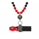 Embouts Japona Hookah Samurai Beads : Size:T.U, Color:RED
