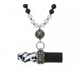 Embouts Japona Hookah Samurai Beads : Size:T.U, Color:WHITE