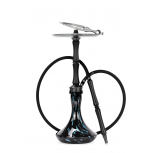 Chicha Ocean Hookah Kaif : Size:T.U, Color:BLACK / BLACK-BLUE