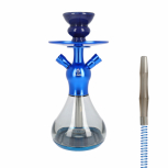 EL-BADIA CELESTE X1 Hookah : Size:T.U, Color:BLUE LAGOON