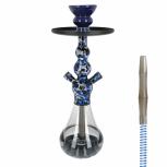 EL-BADIA CELESTE X3 Special Edition Hookah : Size:T.U, Color:SKYBLUE CAMO