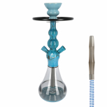 EL-BADIA CELESTE X3 Special Edition Hookah : Size:T.U, Color:BLUESTONE