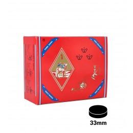 Carbone THREE KINGS 33mm confezione da 100