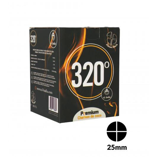 Charbons 320° Disc 4b 1kg
