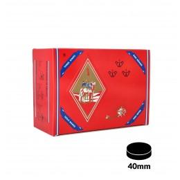 Carbones THREE KINGS XL 40mm, caja de 100