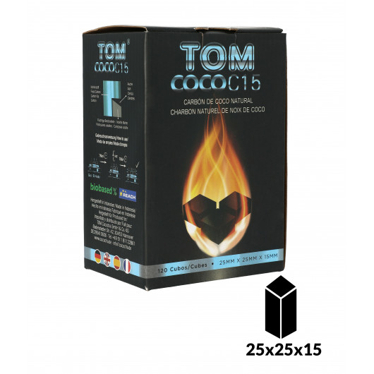 TOM COCOCHA BLUE FLAT Natural Charcoal 1Kg