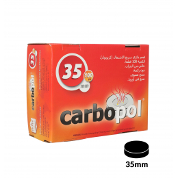 Carbone CARBOPOL 35mm in confezione da 100
