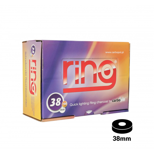 CARBOPOL RING 38mm Quick Light Charcoal