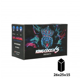 Charbons KING COCO XS FLAT 1KG