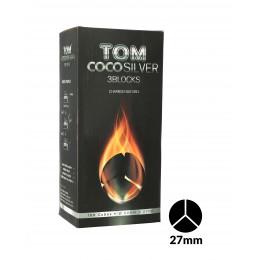 Charbons TOM COCOCHA SILVER 3KG - 3 Blocks