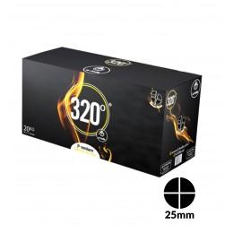 Charbons El-Badia 320° DISC 4 blocs 20Kg
