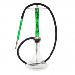 NUBE UNIQUE shisha pipe : Size:T.U, Color:VOLT GREEN