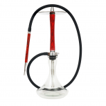 NUBE UNIQUE shisha pipe : Size:T.U, Color:VOLT RED