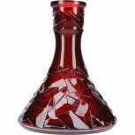 Vase Floe Triangle : Size:T.U, Color:RED