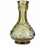 Vase Floe Drop : Size:T.U, Color:AMBER